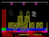 Beverly Hills Cop ZX Spectrum The first level
