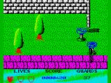 Beverly Hills Cop ZX Spectrum Fountain of death this time