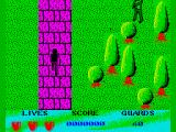 Beverly Hills Cop ZX Spectrum Level 3 start