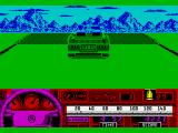 Beverly Hills Cop ZX Spectrum The route contains some big hills