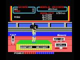 Hyper Sports 2 MSX Weight Lifting