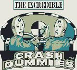 The Incredible Crash Dummies Game Boy Title screen