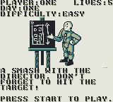 The Incredible Crash Dummies Game Boy Mission of the day