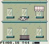 The Incredible Crash Dummies Game Boy Slick jumps off the roof...