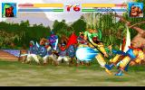 Sango Fighter 2 DOS Sango Fighter 2 Fighting Screen #1