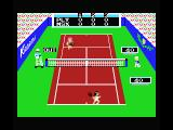 Konami's Tennis MSX This ball was out!