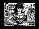 Sabrina MSX Title and loading screen