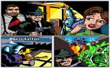 Flight of the Amazon Queen DOS Cut scene ... nice comic style (Sparky's Commander Rocket Comic)