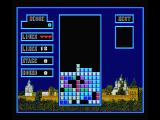 Tetris MSX One layer complete