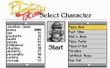 Pizza Tycoon DOS Character Selection