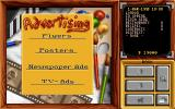 Pizza Tycoon DOS Purchasing advertisements