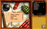 Pizza Tycoon DOS Select what to sabotage other restaurants with