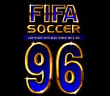 FIFA Soccer 96 SNES Title screen.