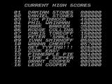 The Hunt for Red October ZX Spectrum High scores