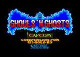 Ghouls 'N Ghosts Amstrad CPC Title