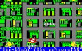 Ghostbusters Amstrad CPC City map