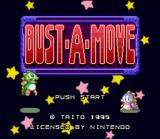 Bust-A-Move SNES Title Screen