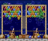 Bust-A-Move SNES Split screen action against the computer or a friend.