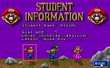 Mario Teaches Typing DOS Selecting your teacher/character