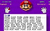 Mario Teaches Typing DOS Another lesson type