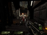 Quake 4 Windows Menacing shot of a Strogg