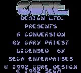 Chuck Rock Game Gear Splash screen