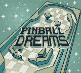 Pinball Dreams Game Boy Title screen