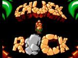 Chuck Rock SEGA Master System Title screen