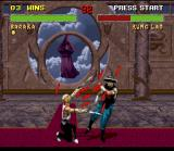 Mortal Kombat II SNES With his fast Blade Fury move, Baraka removes a lot more of Kung Lao's energy.