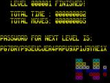 Mindtrap ZX Spectrum Completed the level
