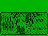 Mindtrap ZX Spectrum Title screen effect