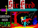 Sir Fred ZX Spectrum Loading screen