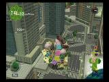 We Love Katamari PlayStation 2 The katamari rolls through a city