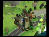 We Love Katamari PlayStation 2 The katamari rolls up some trees...