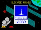 Blockade Runner ZX Spectrum Loading screen