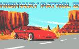 Highway Patrol II Atari ST That car goes out of control in the intro