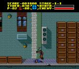 Ninja Gaiden TurboGrafx-16 The end boss of level 1