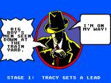 Dick Tracy SEGA Master System Level 1 intro