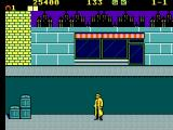 Dick Tracy SEGA Master System Dick, once again on the mean streets