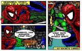 The Amazing Spider-Man and Captain America in Dr. Doom's Revenge! DOS Comics sheet
