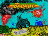 Jackal ZX Spectrum Loading screen