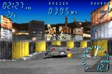 Need for Speed: Underground Game Boy Advance Crossing Drift Track 2's toughest point: the intersection between 1st and 2nd curves...