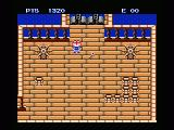 Higemaru Makaijima: Nanatsu no Shima Daibōken MSX Don't forget to pick up the key!