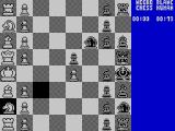 The Chessmaster 2000 ZX Spectrum The move pattern of the knight - protecting my pawn