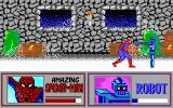 The Amazing Spider-Man and Captain America in Dr. Doom's Revenge! DOS Ingame shot