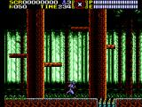 Ninja Gaiden SEGA Master System Ryu is in the forest