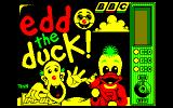 Edd the Duck! Amstrad CPC Title