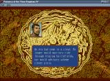Romance of the Three Kingdoms IV: Wall of Fire Windows 3.x Romance of The Three Kingdoms IV Victory Screen #1