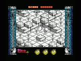 Mad Mix 2: En el castillo de los fantasmas MSX Run from the monsters