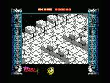 Mad Mix 2: En el castillo de los fantasmas MSX Eat the small balls